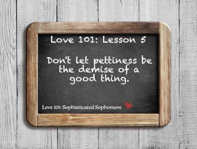 Love 101: Lesson 5