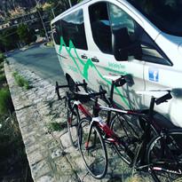 Sicily Cycling Tours Van