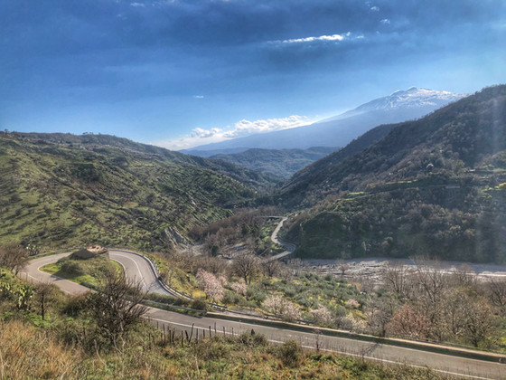 Two days cycling around Etna