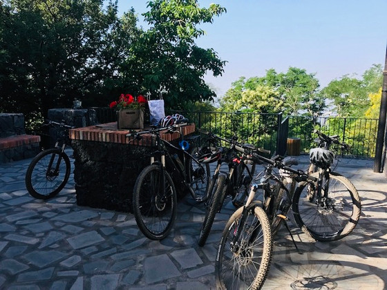 We are ready to enjoy Etna#ebike tour#SicilyCyclingTours#Mount Etna