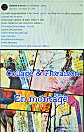 March 12, 2020 Galerie Lenoir -  Collage