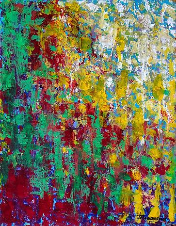 Seasons Series Indian Summer 18x14 acryl