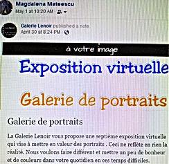 May 1, 2020 Galerie Lenoir - Galerie de