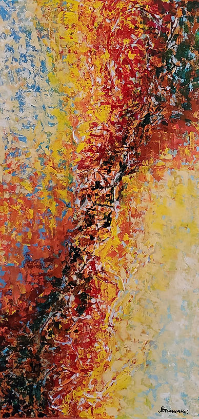 Seasons Series Plenitude 30x15 acrylic o