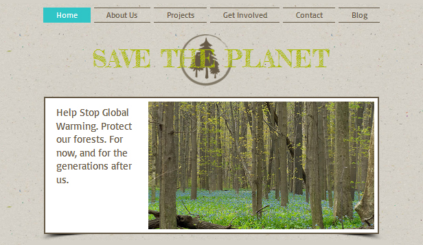 Religion & Non Profit website templates – Nature Org