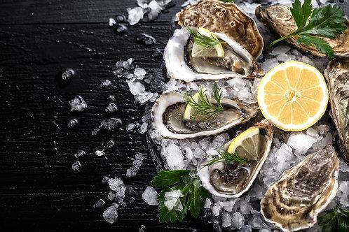 "Zeeuwse oester ""fine champagne"""