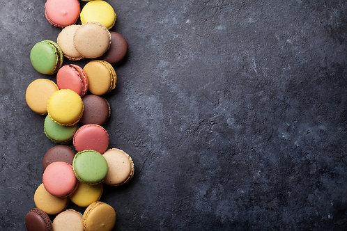 Macaron van ganzenlever en speculoos
