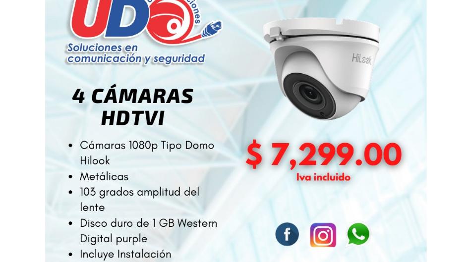 Cámaras HDTVI