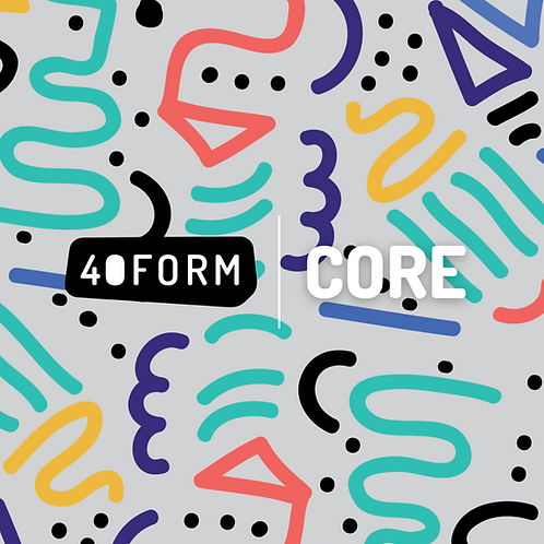 40Form/CORE - Cohort Journey