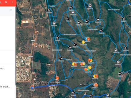 Mapas com informações de GPS ajudarão localização de atletas em caso de acidentes nas Trilhas de Pal