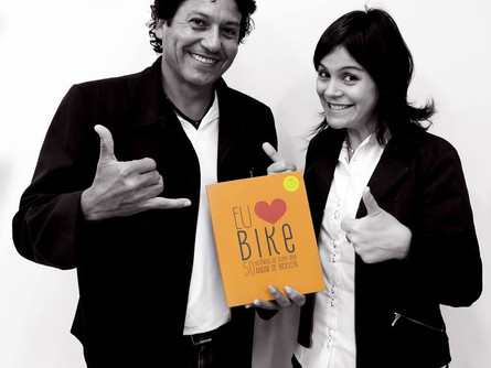Parriul no Livro Eu AMO Bike