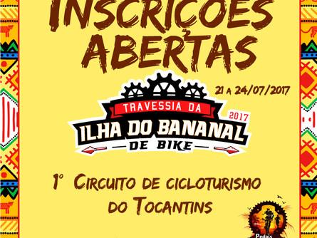 Vai começar de novo!!! Inscrições Abertas para a Travessia da Ilha do Bananal de Bike 2017.