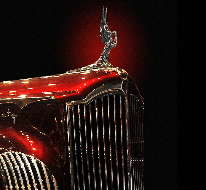 Detail Shot of a Duesenberg