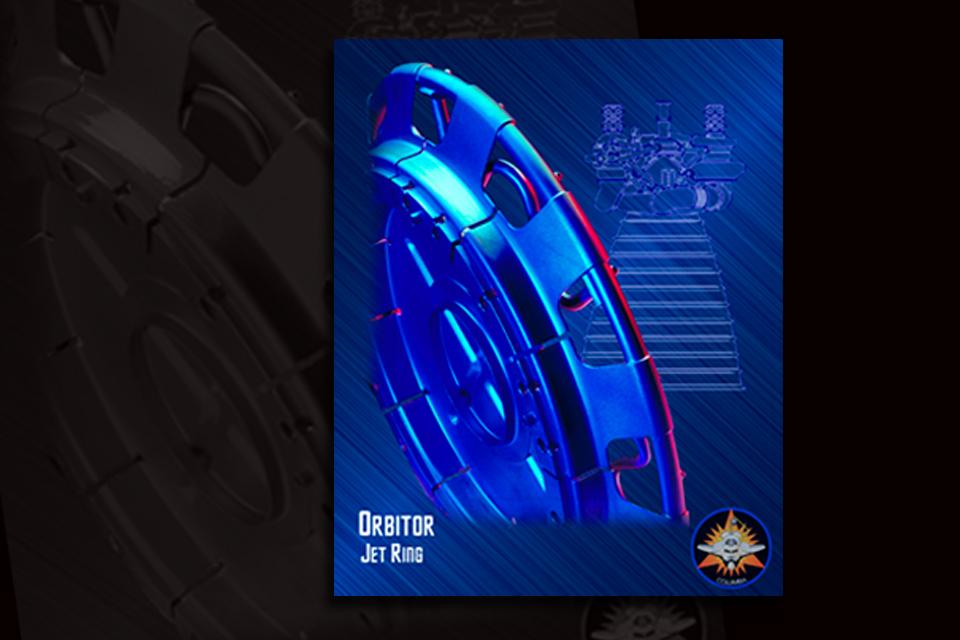 NASA Space Shuttle Engine Part