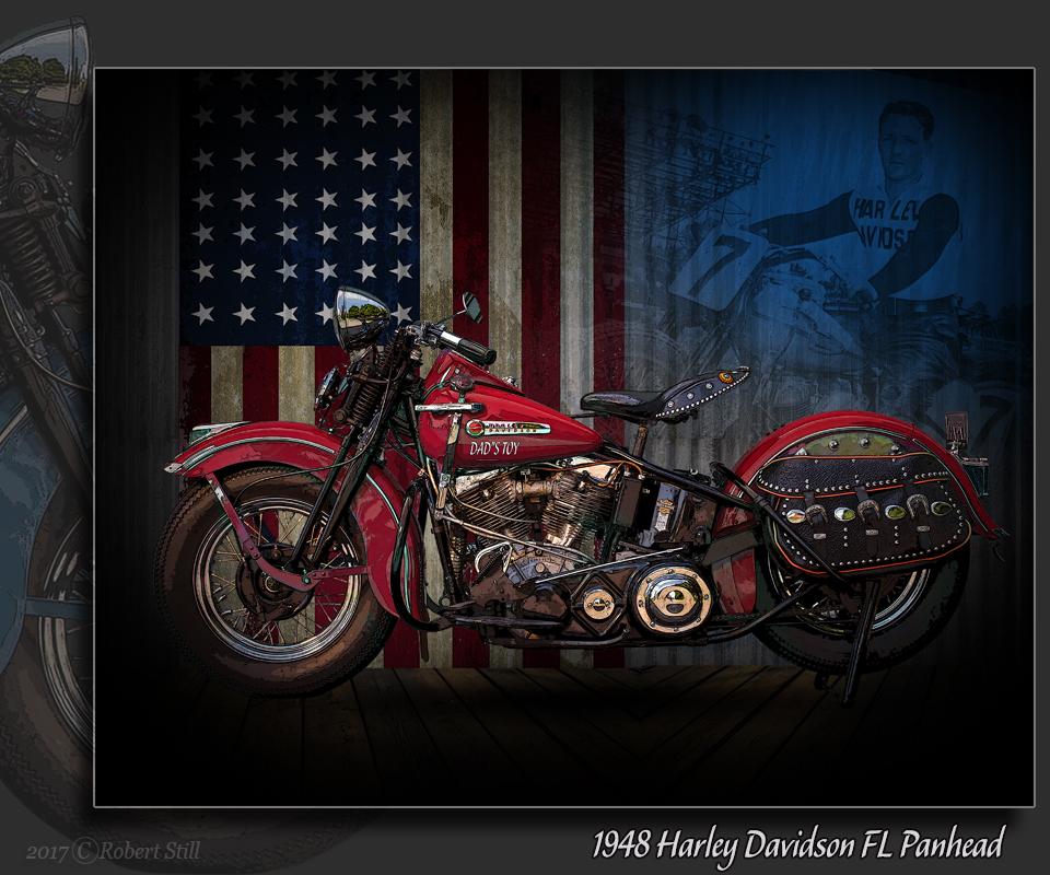 1948 Harley Davidson FL Panhead