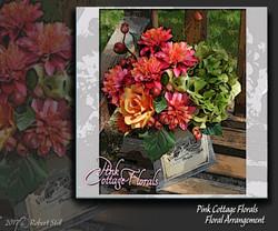 Pink Cottage Florals