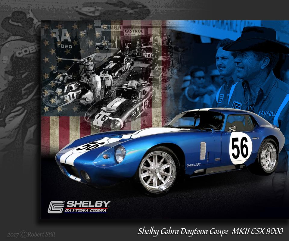 Shelby Cobra Daytona Coupe  MKII CSX 9000