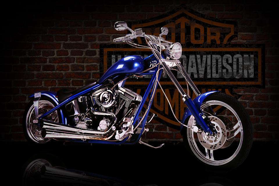 Harley Davidson Chopped