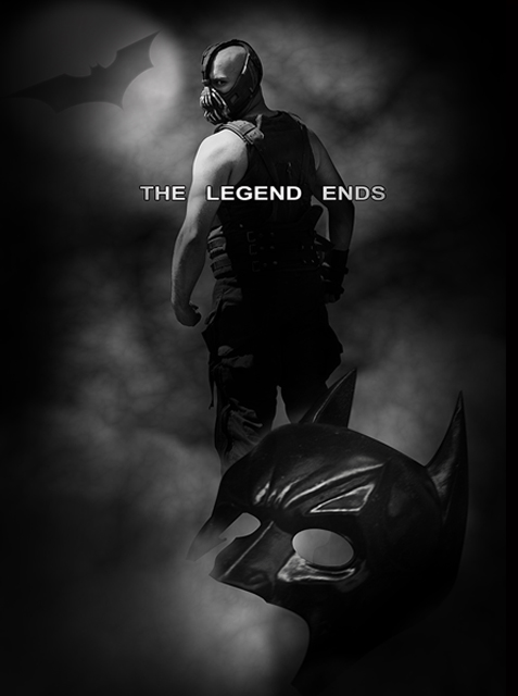 Recreated Batman Poster