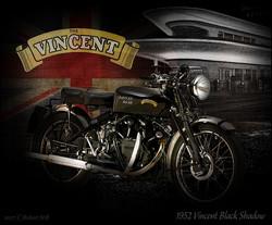 1952 Vincent Black Shadow