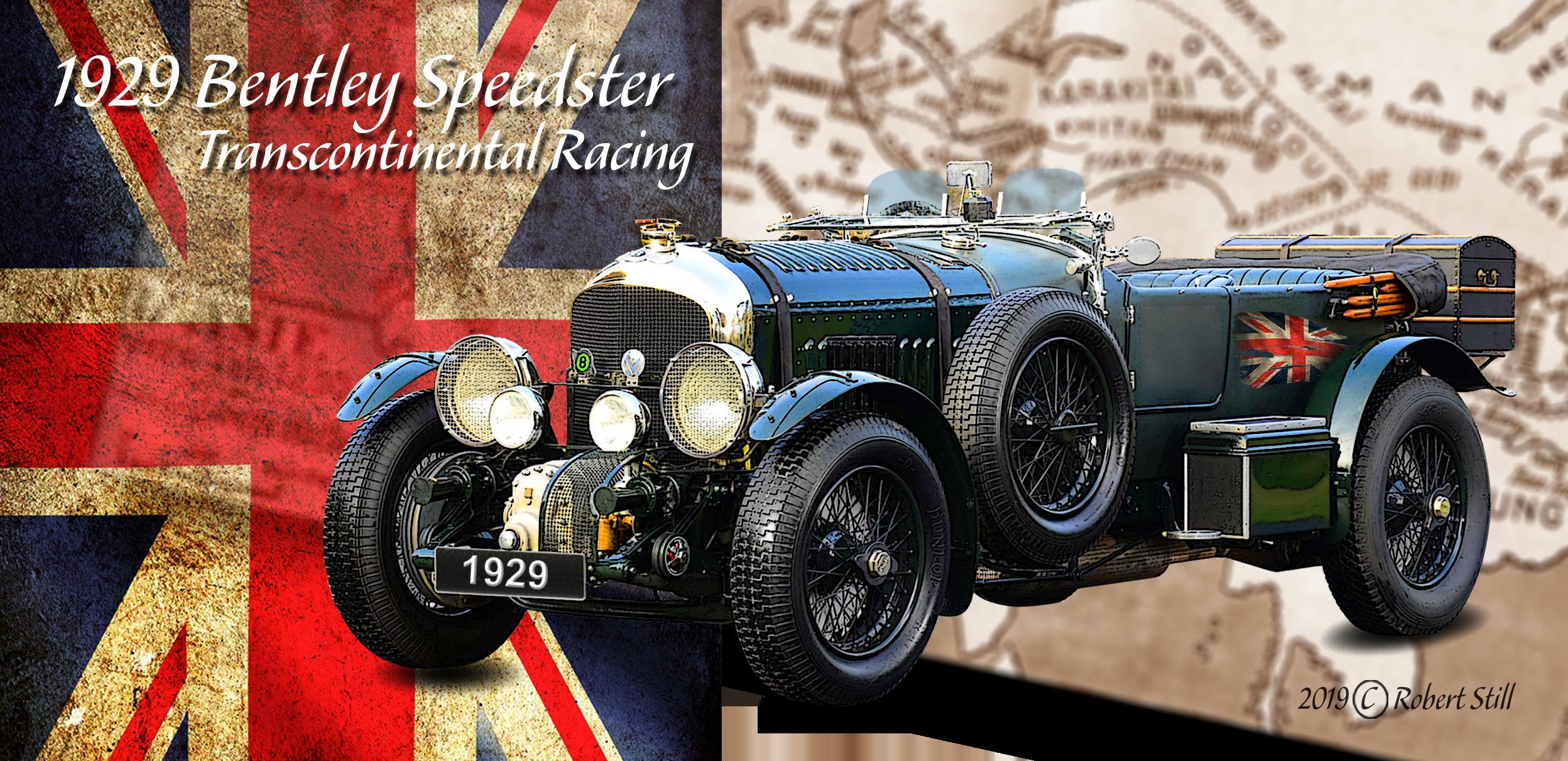 1929 Bentley Speedster