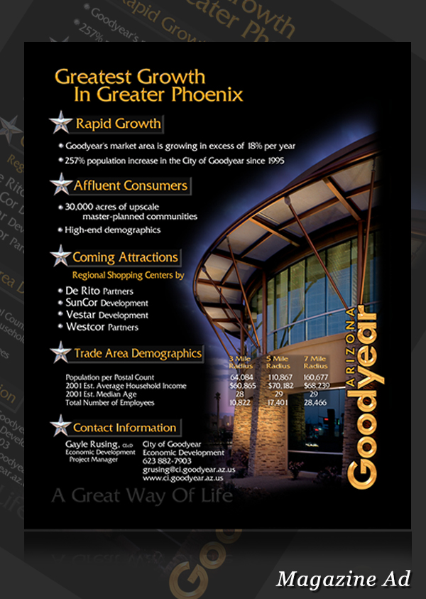 City of GoodYear Magazine  Ad 001