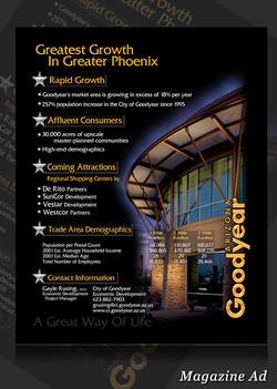 City of GoodYear Magazine  Ad 001