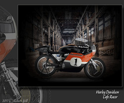 Harley Davidson CafeRacer