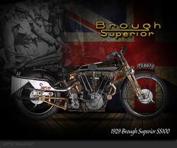 1929 Brough Superior SS100