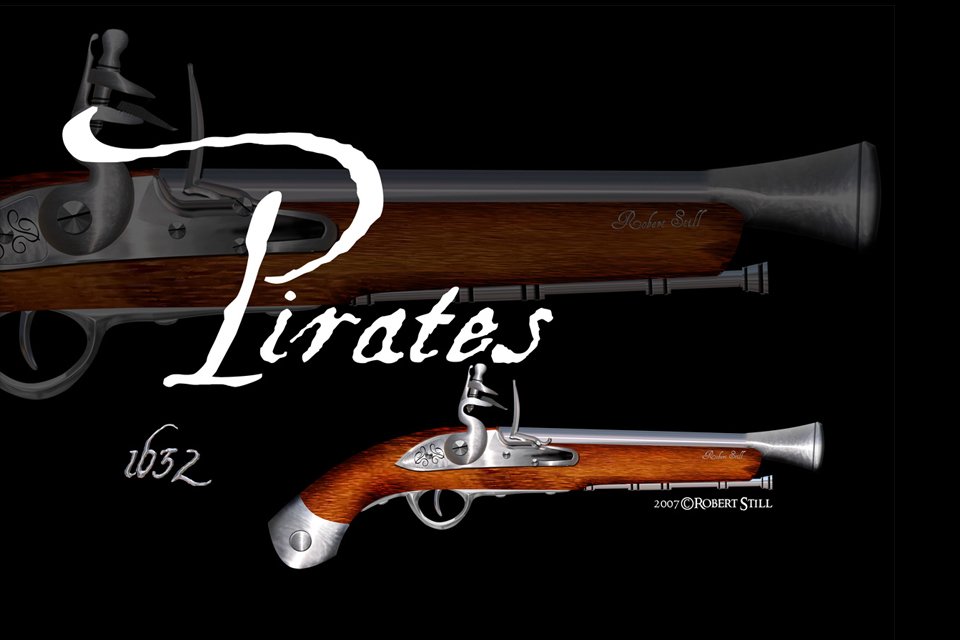 Pirate Flintlock 1632