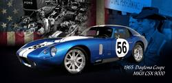 1965  Daytona Coupe  MKII