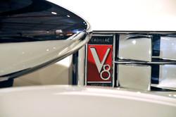 Cadillac V8 Badge