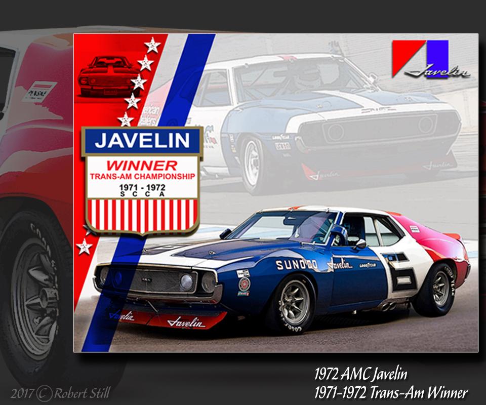 1972 TransAm Javelin Winner
