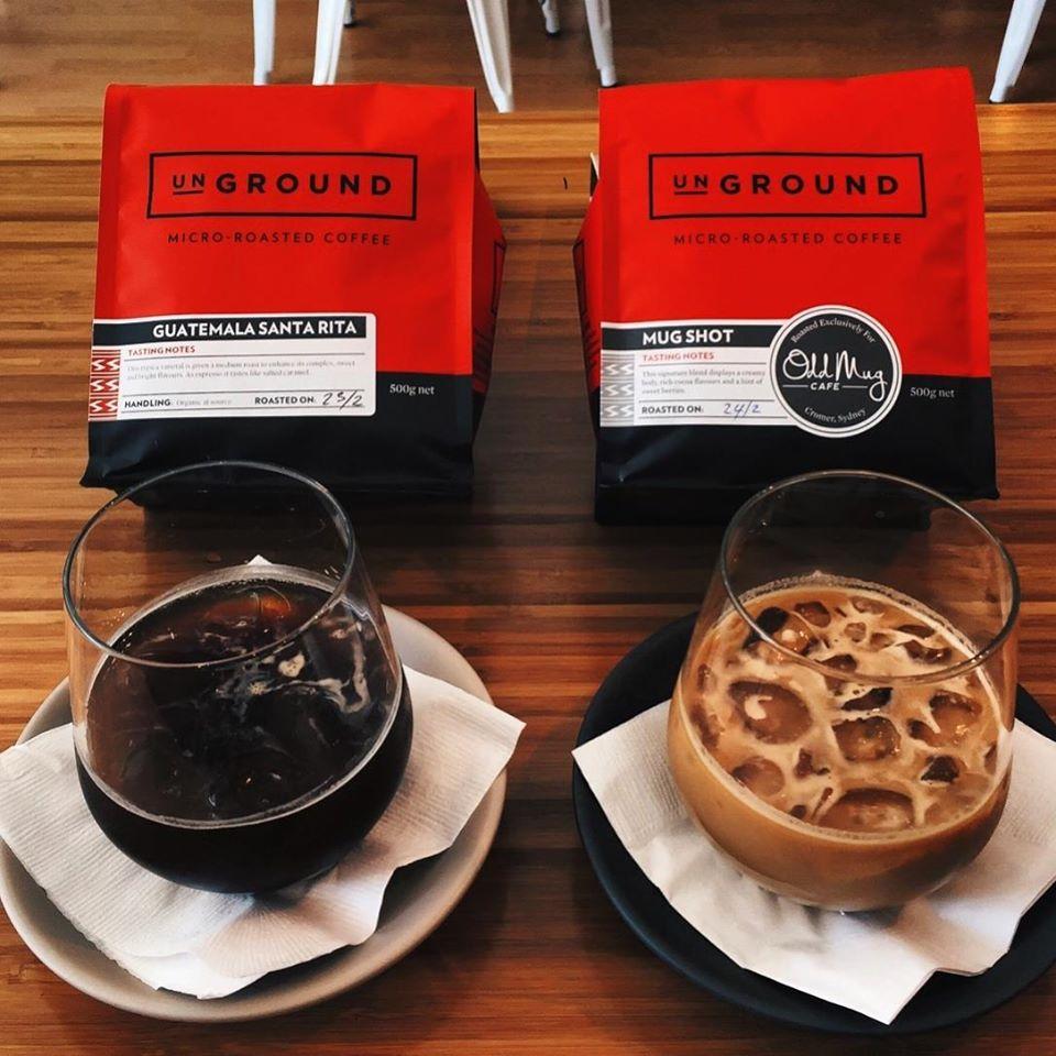 Odd Mug Cafe Cromer - Ice coffee