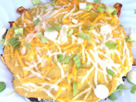 Amazing Loaded Vegan Nacho Cheese Fries