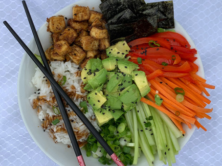 Loaded Sushi Bowl