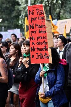 Marcha pro aborto ecuador