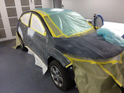 auto paint matching and repair