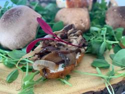 Wild Musrooms Crostini 2