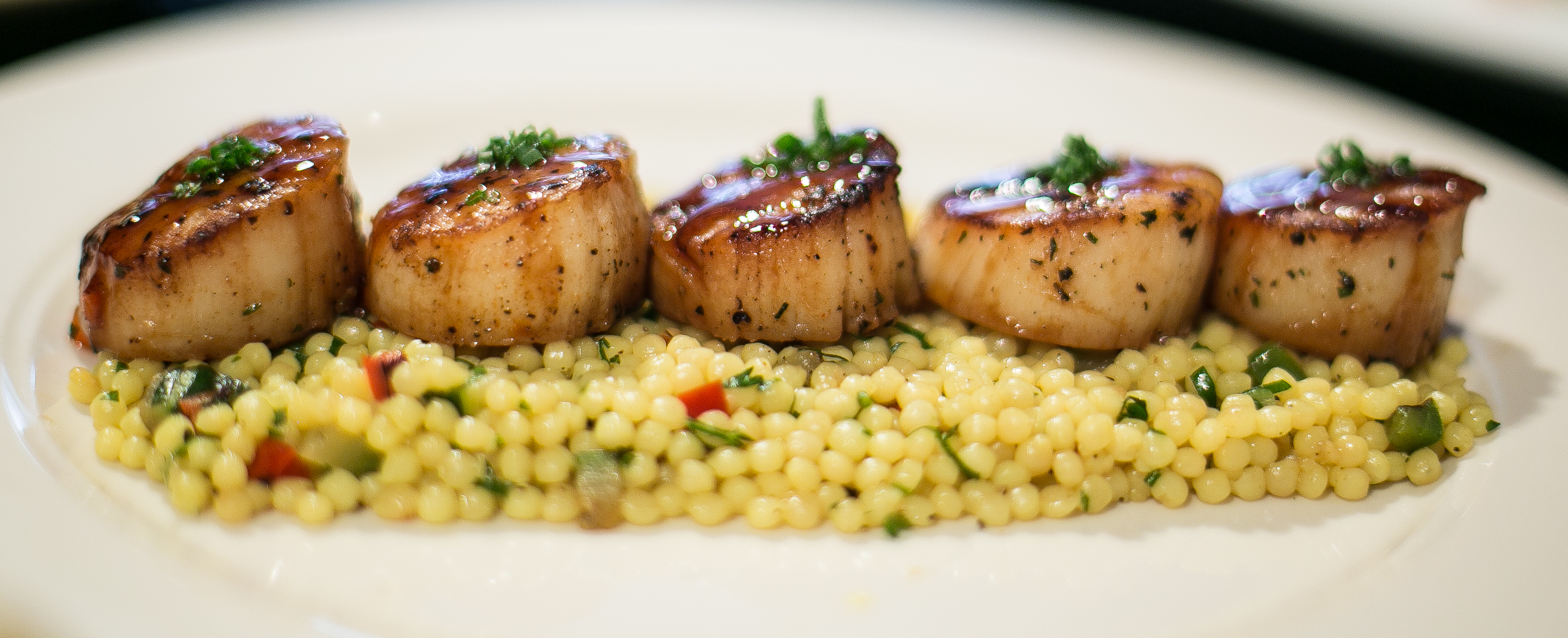 Scallops On Cuscos