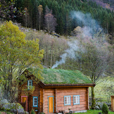Husmannshuset på gården