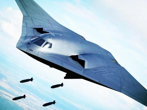 Chinese H-20 bomber, computer generated images of the aircraft and technical specifications