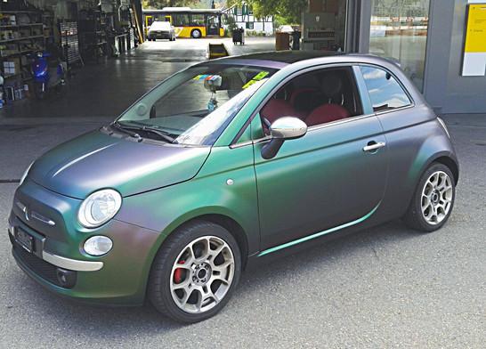 Vollfolierung Fiat 500