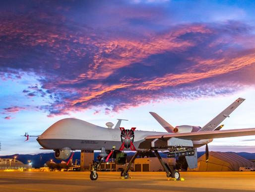 The US Air Force MQ-9 Reaper-Romania