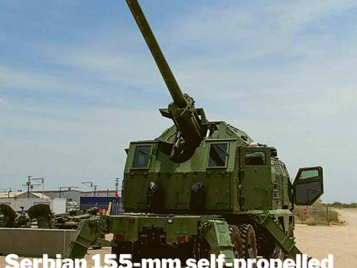 Serbian 155-mm self-propelled gun NORA B-52 M21