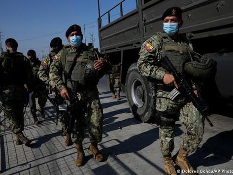 Ecuador prisons BLOODBATH: Gang wars kill 116, 10 DECAPITATED in a night of violence!