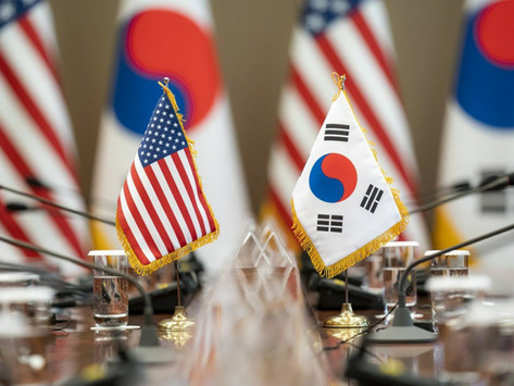 South Korea and the United States begin 2-day defense negotiations.