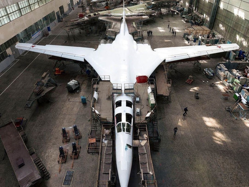 Modernization of the Tu-160 Aerospace Forces of the Russian