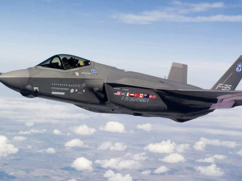 The USAF forms the first F-35A fighter squadron in Europe.