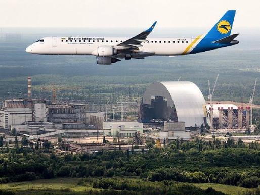 🇺🇦☢️ Fascinating flights over Chernobyl